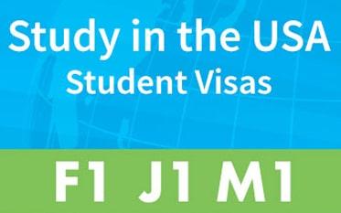 F1-J1-M1 Student USA Visas