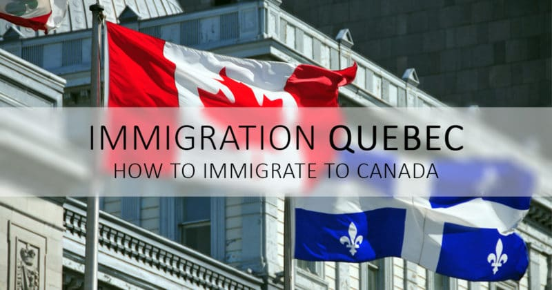 Immigrate to quebec